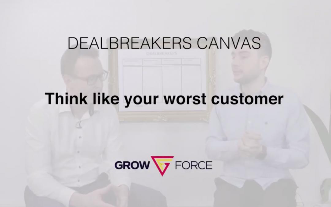 Dealbreakers Marketing Canvas