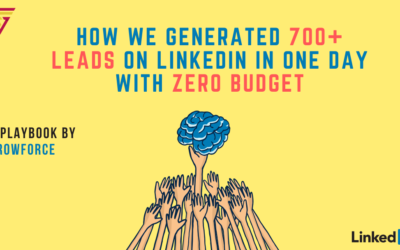 How We Generated 700+ Leads on LinkedIn With Zero Budget