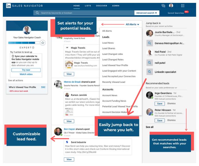 LinkedIn Navigator Overlook - Buffalo Soldiers Digital