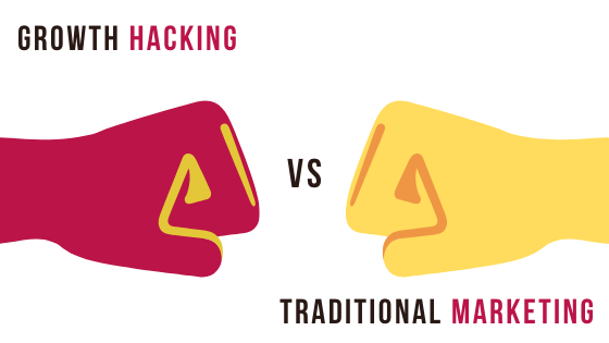 Growth Hacking Vs. Traditional Marketing – 8 Major Differences.