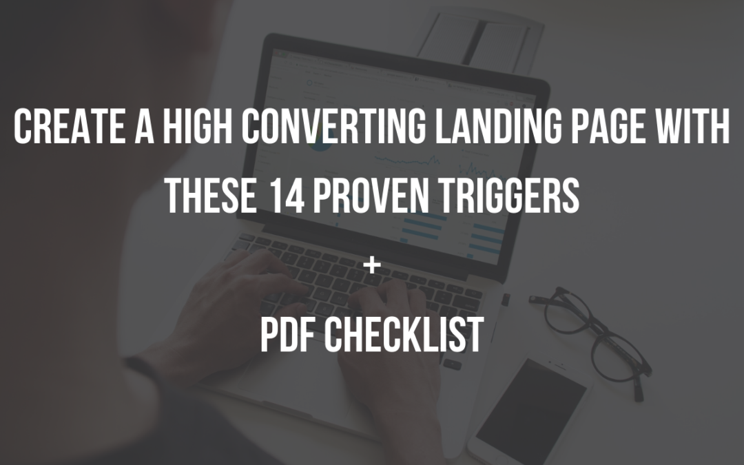 A 14 Point Landing Page Checklist + Infographic for Higher Conversion.