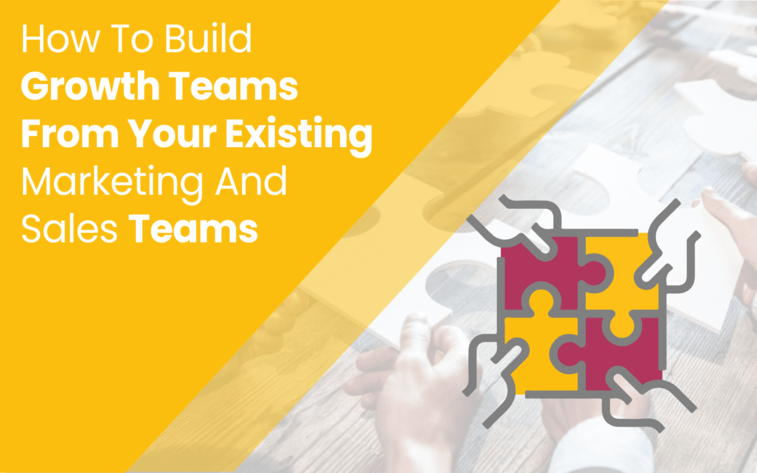 How To Build Growth Teams From Your Existing Marketing And Sales Teams