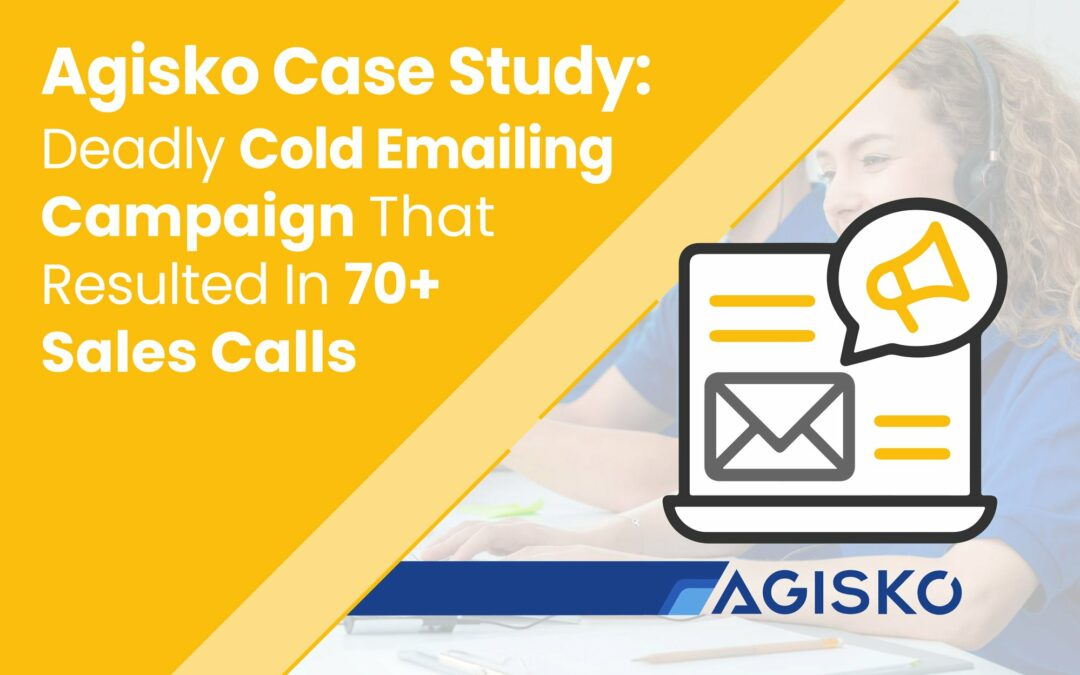 Email marketing case study: How a B2B company scheduled 70+ calls with a cold emailing campaign